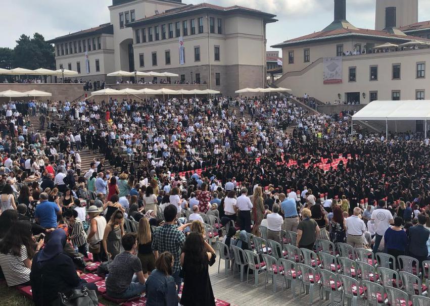 Koç Üniversitesi Mezuniyet Töreni